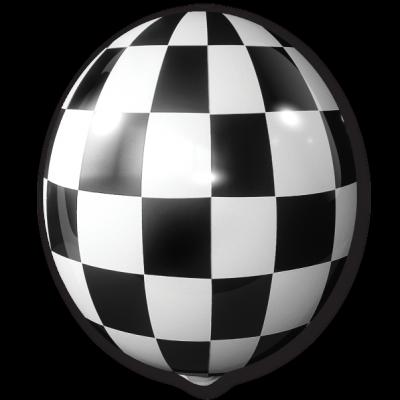 Black Checkered