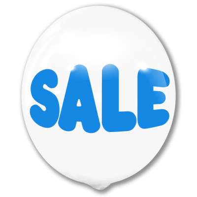 White Sale (Blue)