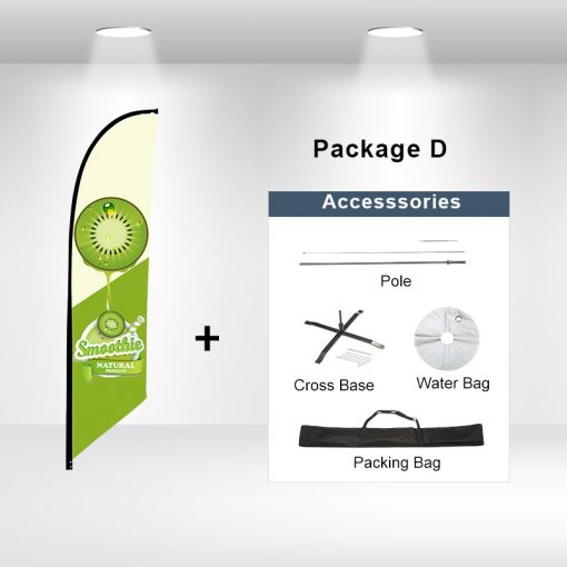 Blade Flag Angled Package D
