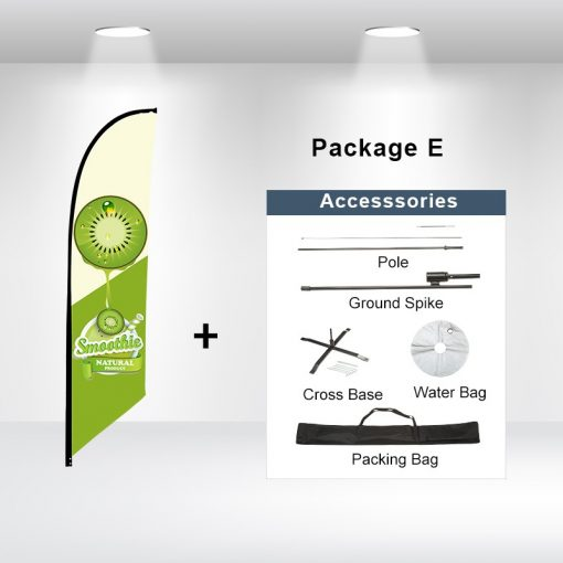 Blade Flag Angled Package E