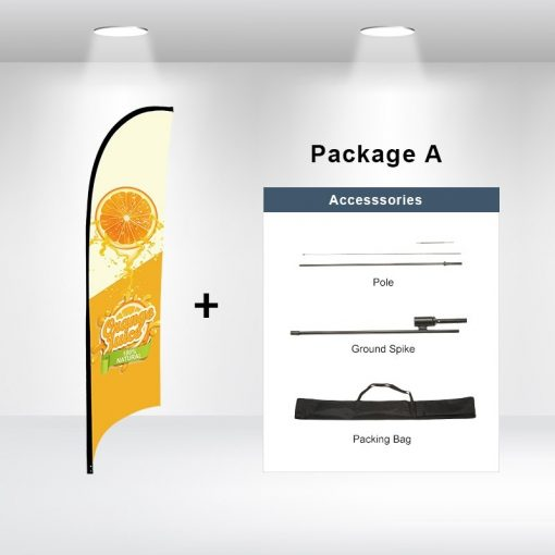 Concave Flag Package A