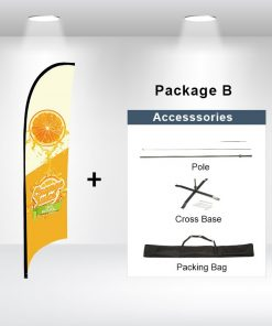 Concave Flag Package B