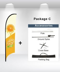 Concave Flag Package C
