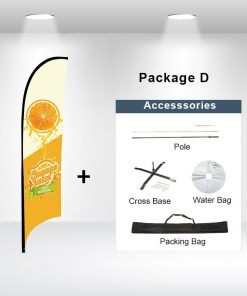 Concave Flag Package D