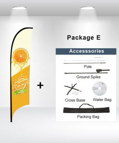 Concave Flag Package E