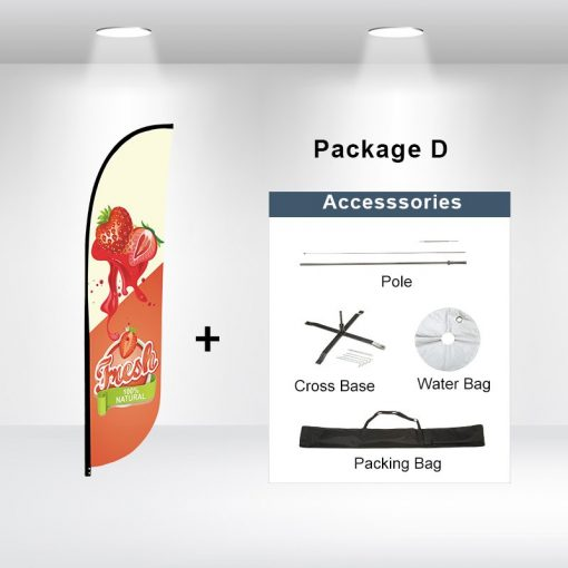 Convex Flag Package D