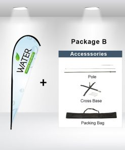 Teardrop Flag Package B