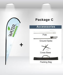 Teardrop Flag Package C