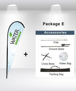Teardrop Flag Package E