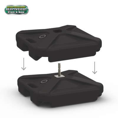 Weighted Base Double Stand ($40+)